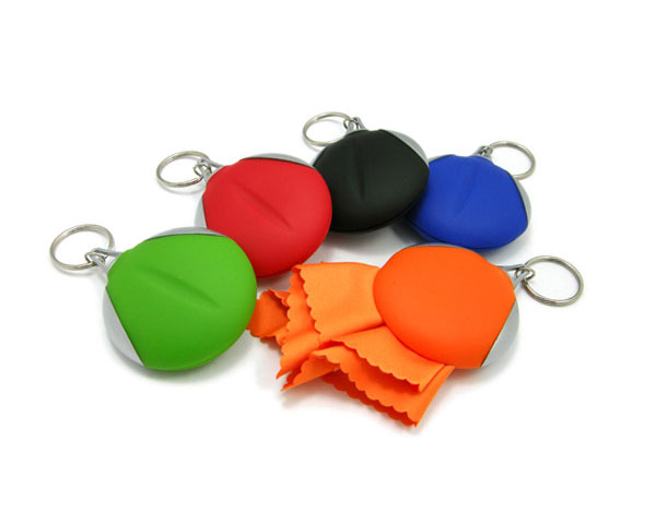 Key ring Micro fibre key rings
