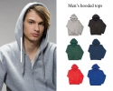 Budget men's hooded tops