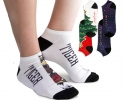 Contrast Promotional Socks