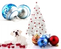 Custom designed Christmas balls and decorations