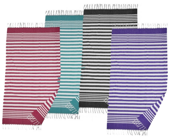 PTS015 The Fringed Beach Towel