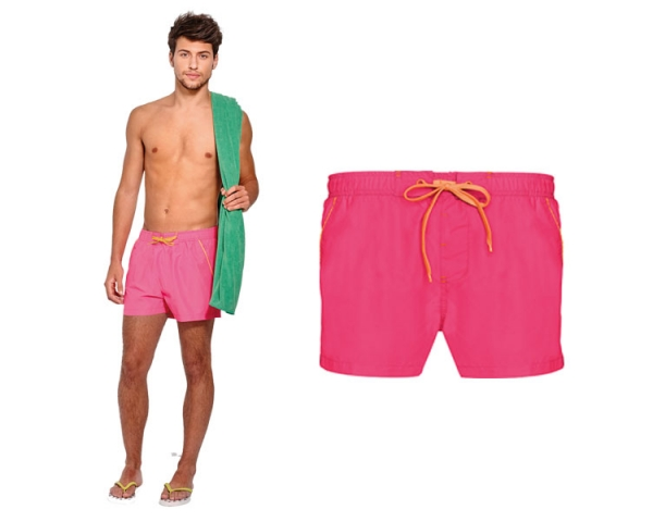 BS - 001 Promotional pink board shorts
