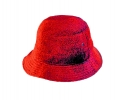 PK003 Terry toweling hats red
